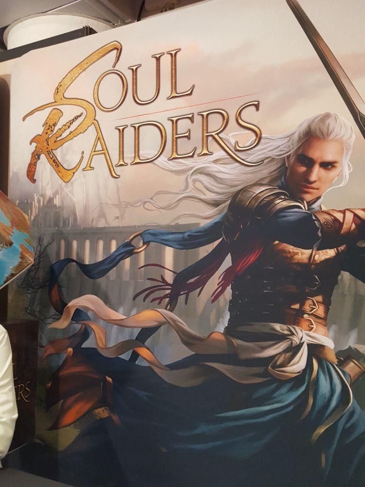 Dernier jeu de cette journée pro du jeudi avec Running Qu'est : Soul Raiders le KS de Marc André (Splendor) prévu pour l'été 2020.