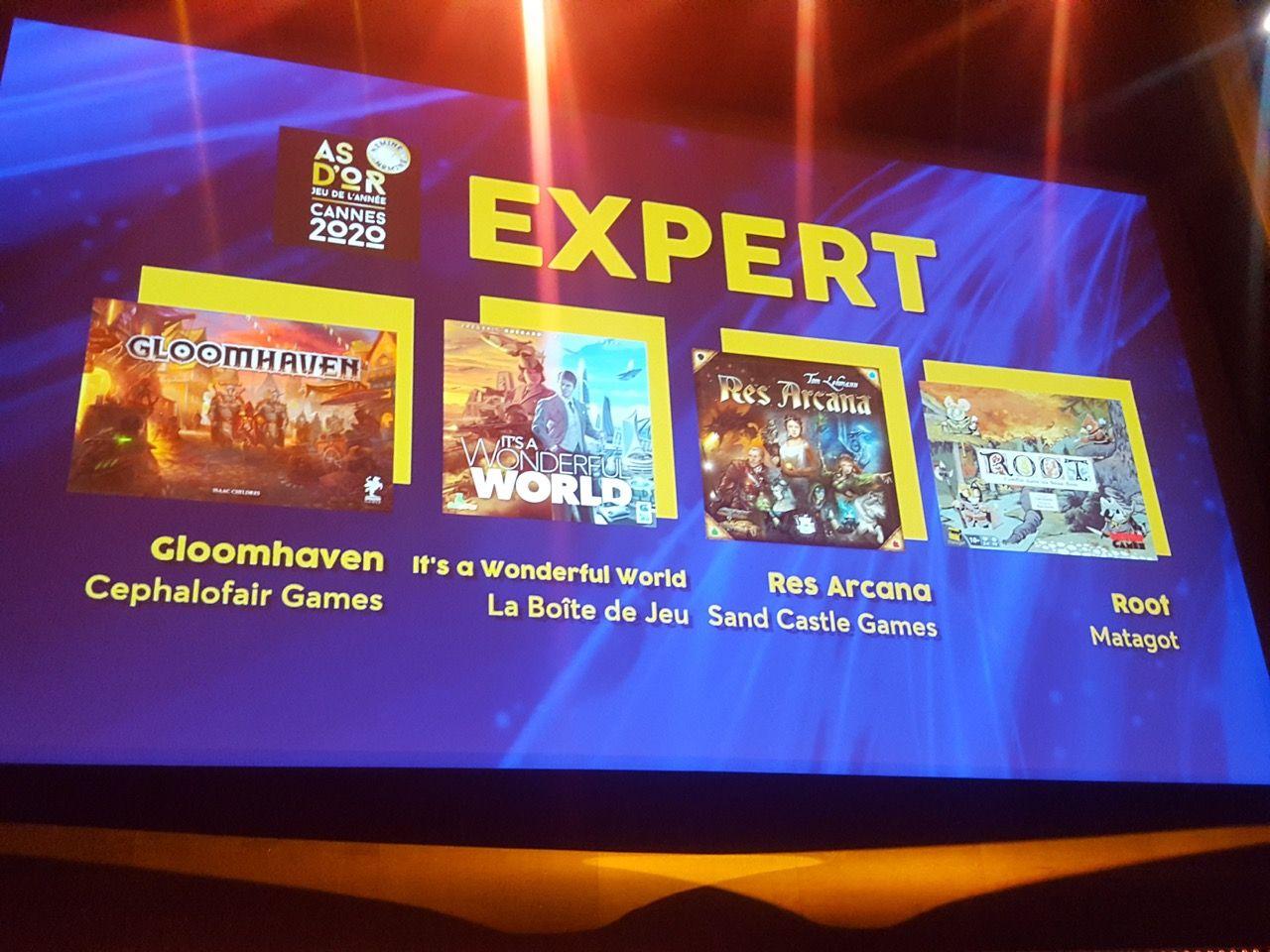 As d'Or jeu Expert...