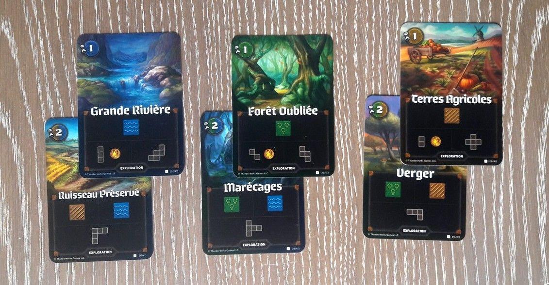 "Les cartes ""exploration""  1/2"