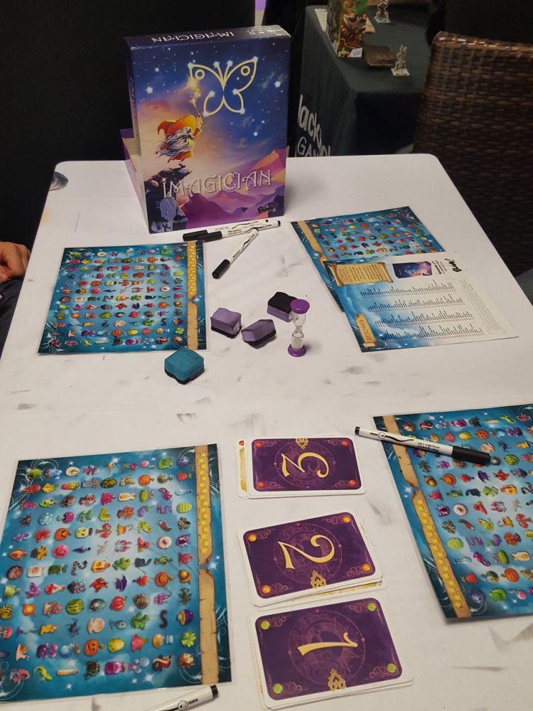 On trouve une table libre d'Imagicien, un proto bien avancée chez Blam !