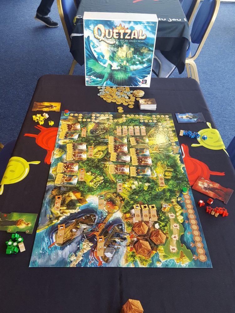 Quetzal : e futur gros jeu expert d'Alexandre Garcia (Dilluvia Project), illustré par Nastya Lehn à venir pour la fin de l'année