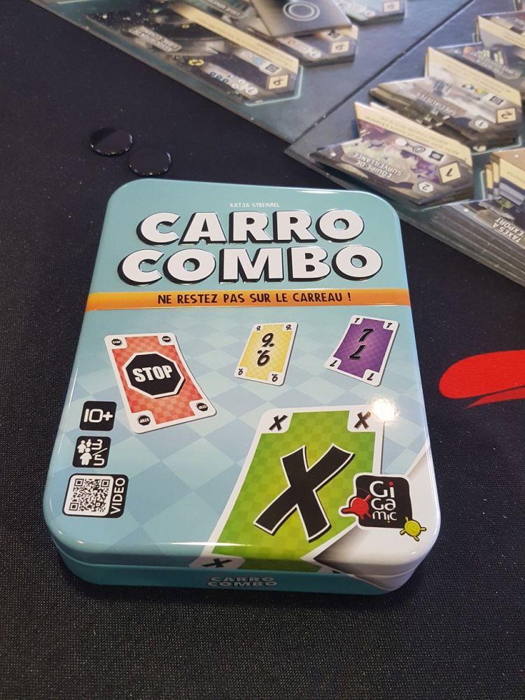 Carro Combo, la localisation de Krass Kariert chez Amigo.