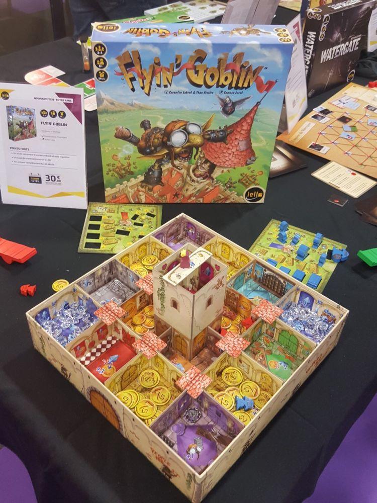 Flyin Goblin un jeu de Théo Riviere et Corentin Levrat déjà arrivé en boutique.
