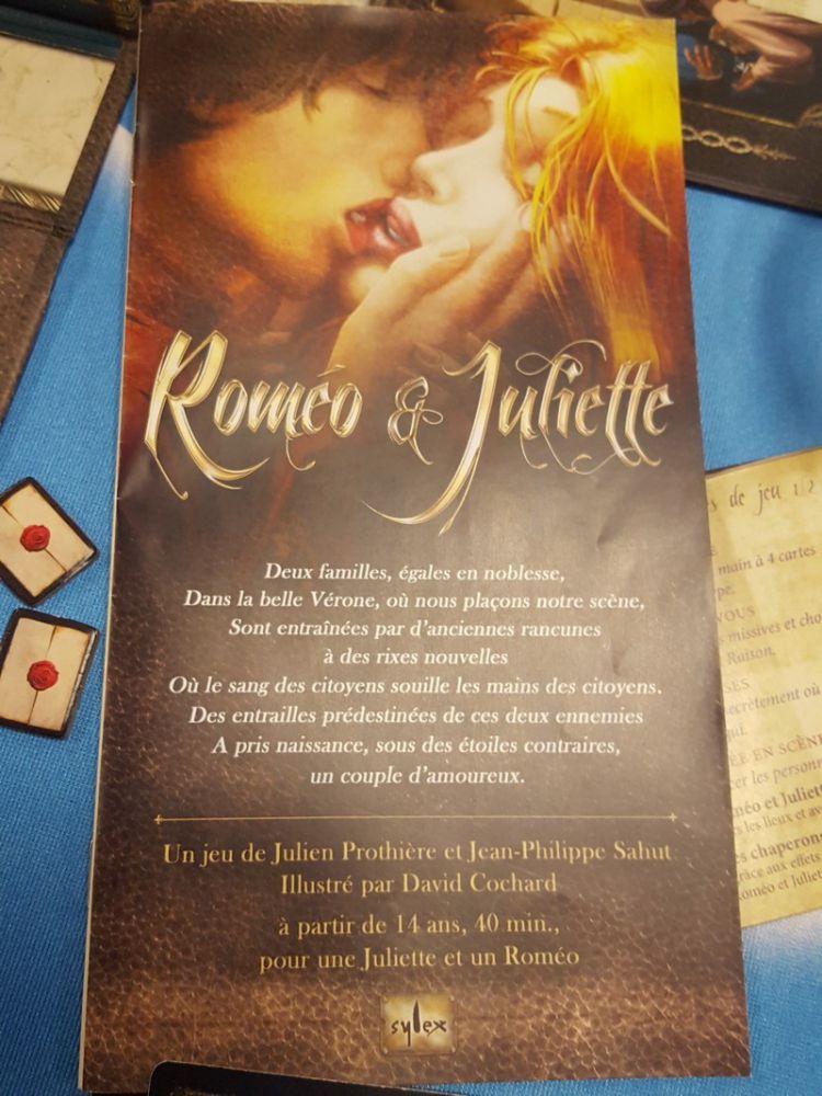 Et le proto de Roméo et Juliette le jeu de Julien Prothière et Jean-Philippe Sahut toujours chez Sylex.