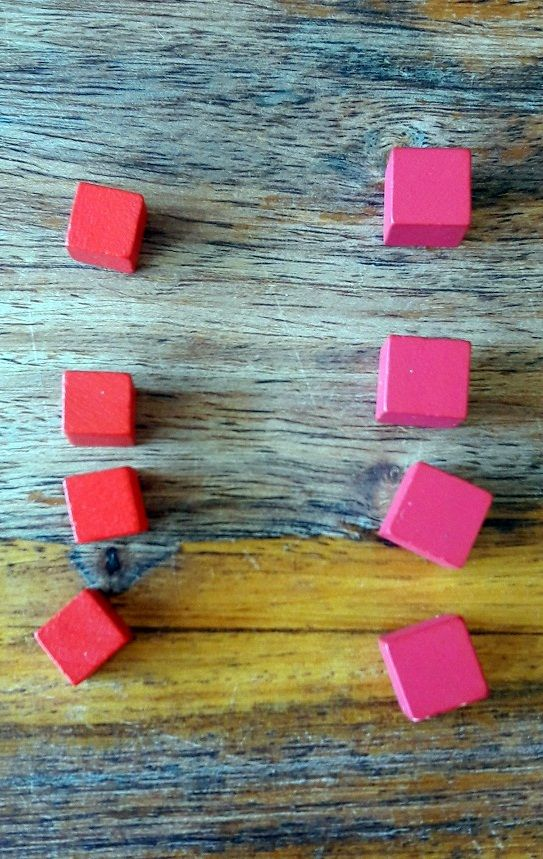 Les cubes de vie ont réduit de taille mais gagné en couleur (plus vive).