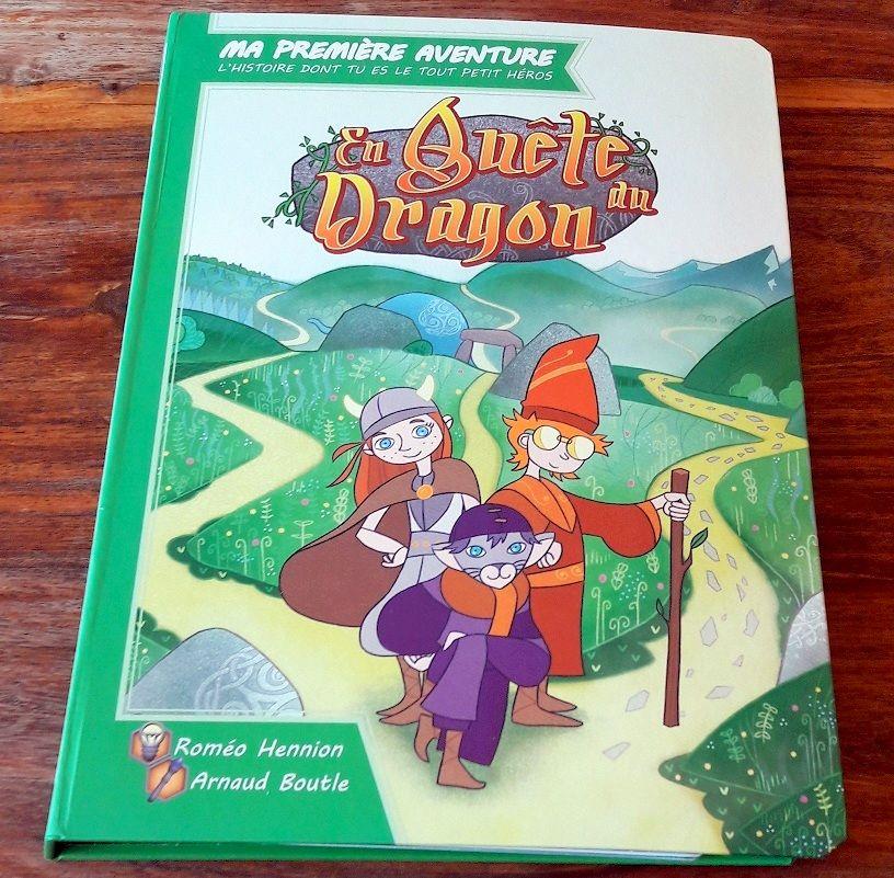 La quête du dragon fut la première aventure sortie chez Game Flow il y a maintenant plus d'un an.