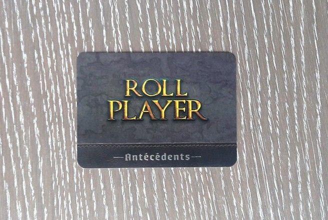 Le dos de la carte Roll Player