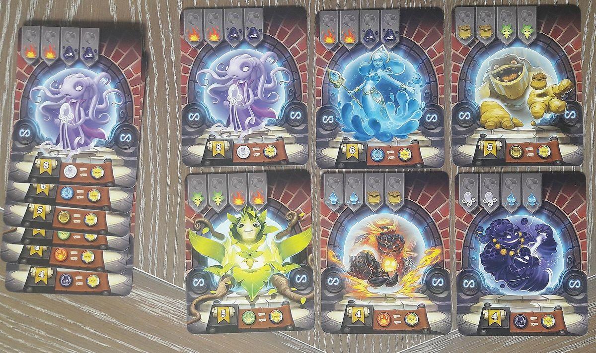 Avoir l'une de ces cartes est indispensable pour la récompense qui joue sur la diversité des portails. C'est donc une course dans la course si vous jouez avec des enfants impitoyables ( comme les miens :) )