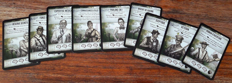 9 personnages feront partie de l'expéditions, ceux non joueur ici vous aideront quand même !
