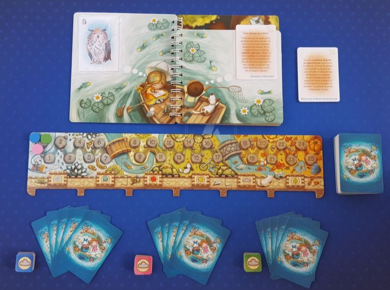 Une mise en place du jeu dans le mode compétitif (à partir de 6 ans).