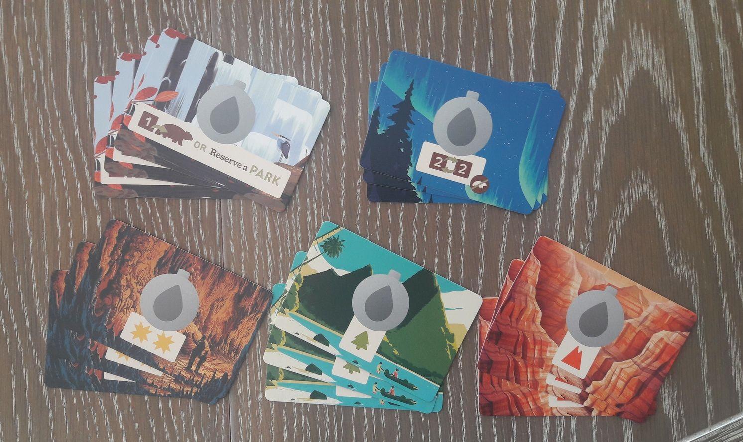 Les cartes  'Gourde'