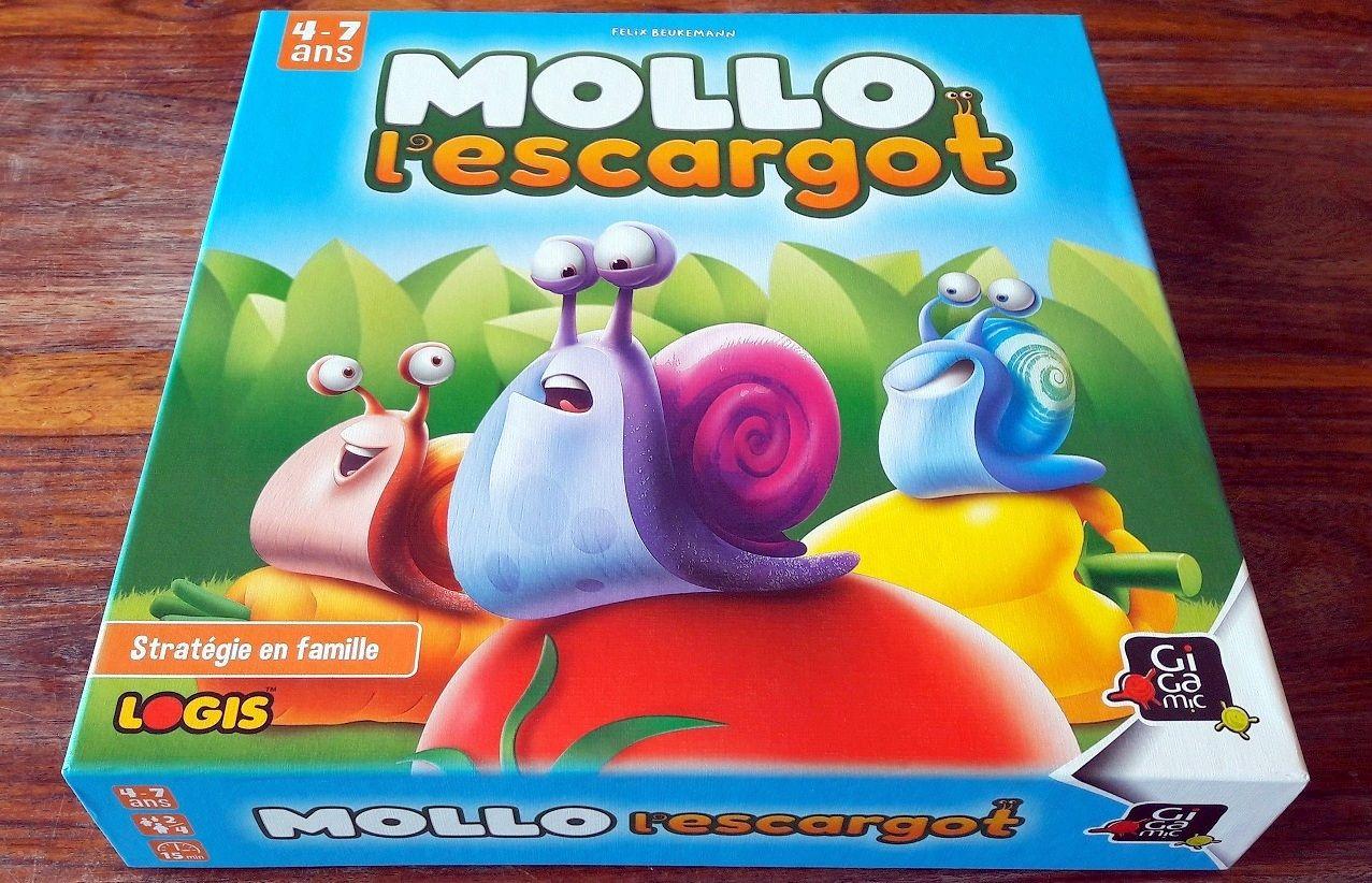 Beaucoup de couleurs vives et un escargot malicieux qui donnent la couleur du jeu  !
