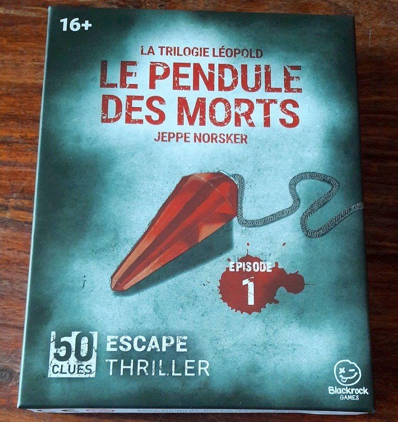 Sombre boite pour un nouveau type de jeu : l'Escape Thriller !