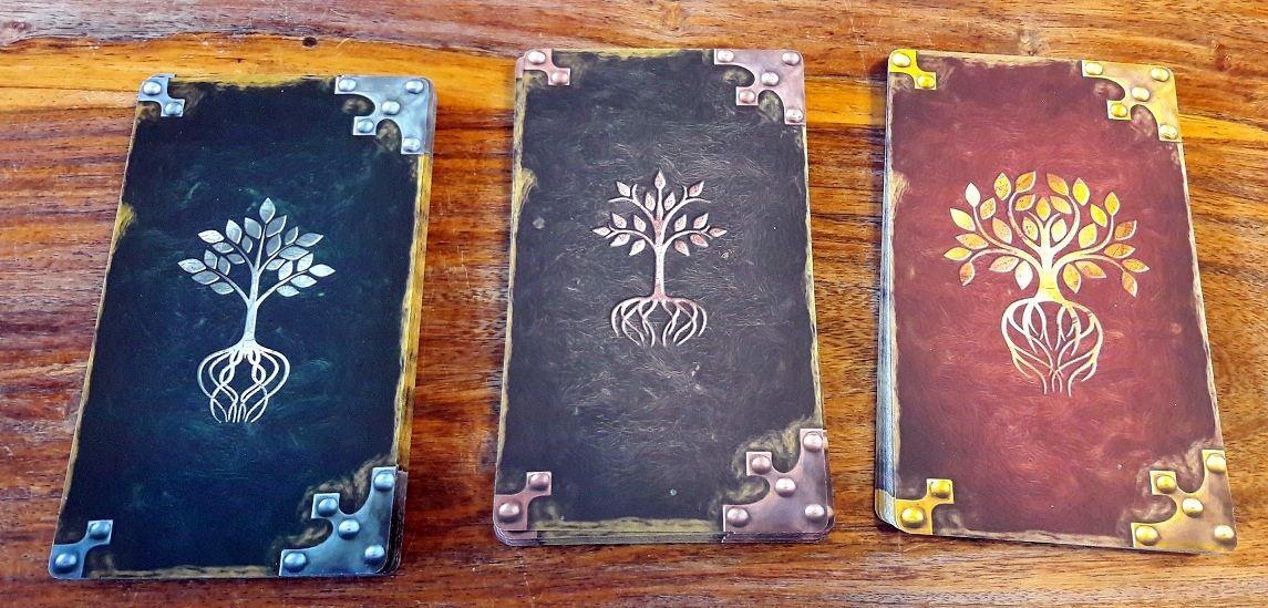 Des origines au Destin ce seront ces cartes qui détermineront votre héros !