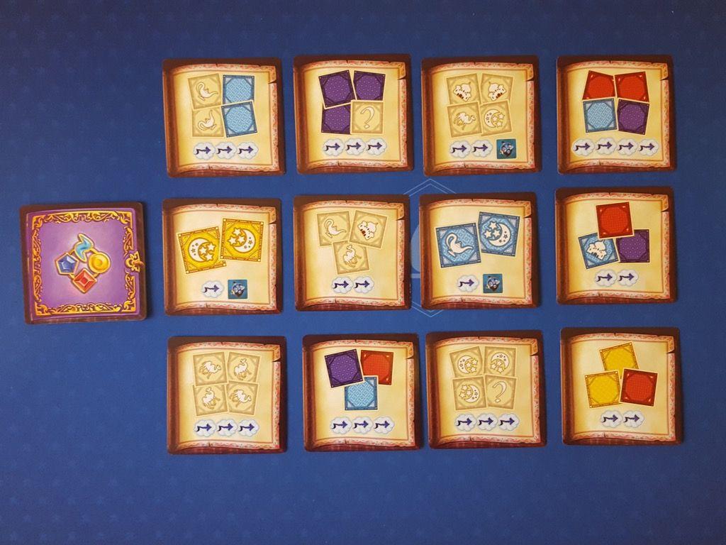 Quelques  exemples de cartes parmi 24 cartes défis avancés avec un bord rouge.