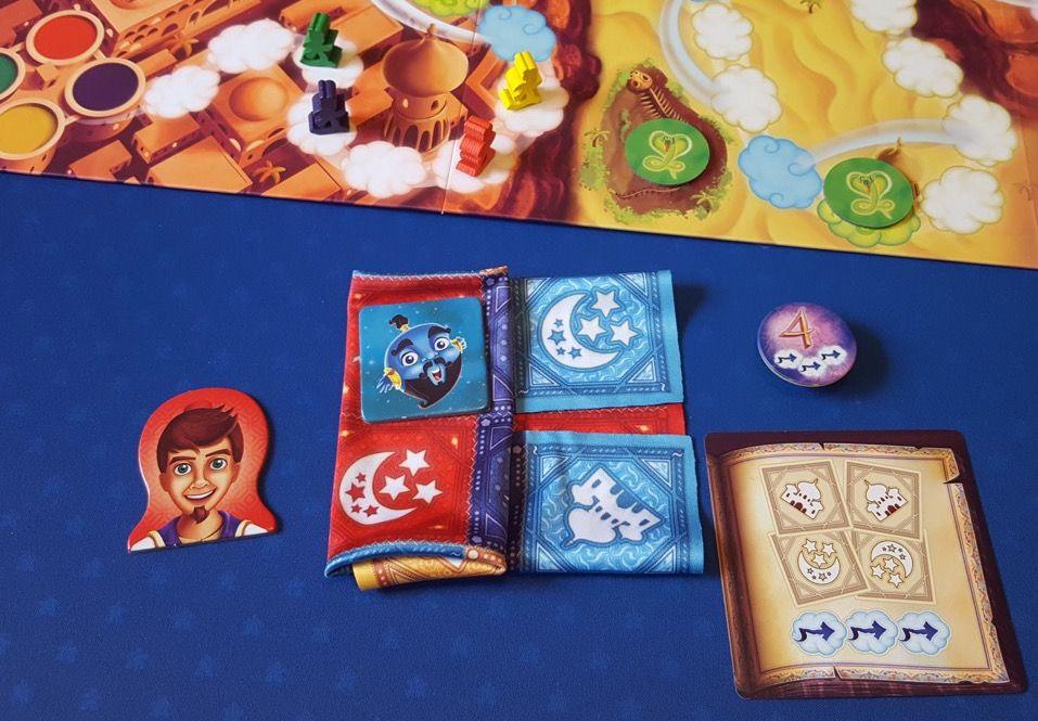 Le joueur avance au final de 6 cases.