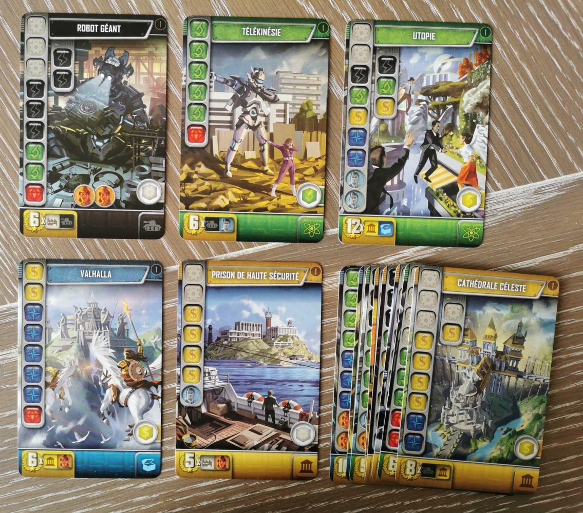 cartes doubles scoring : toutes uniques !