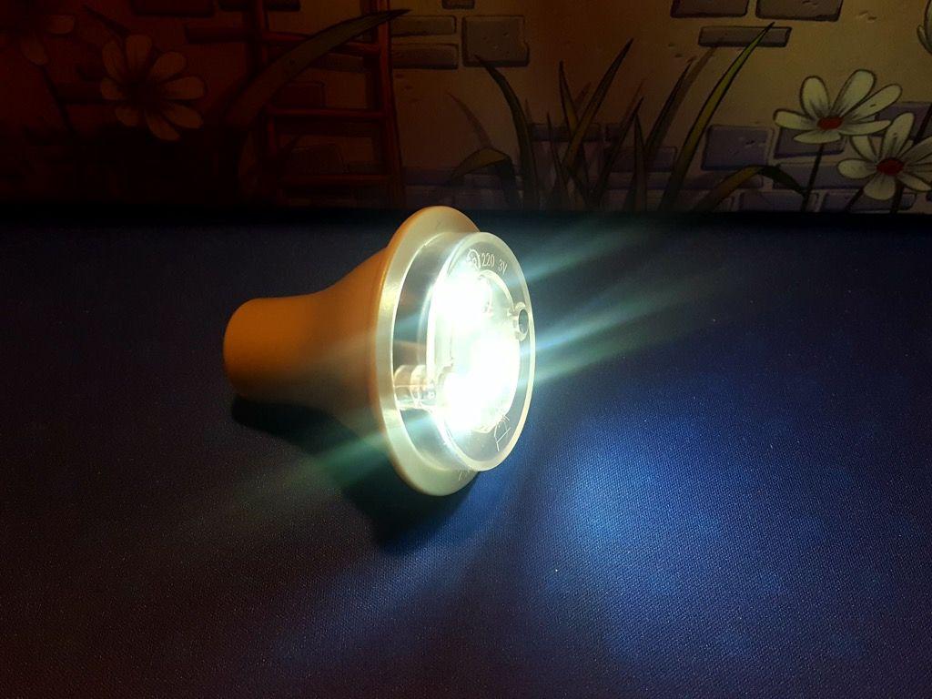 """La lampe à led dite appelée par les enfants """"la lampe magique"""" !"""