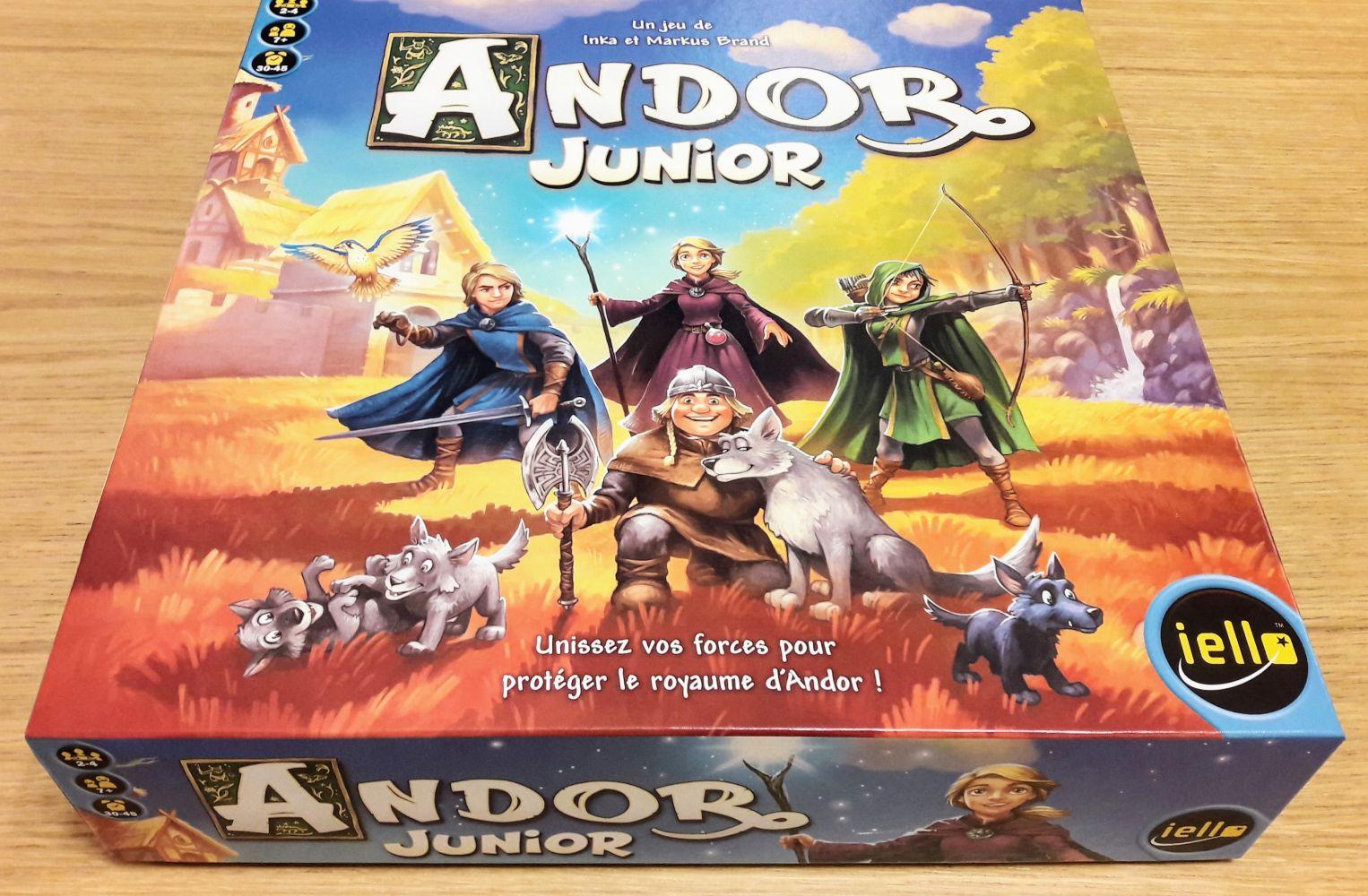Clairement un clin d'oeil à Andor mais enfantin.