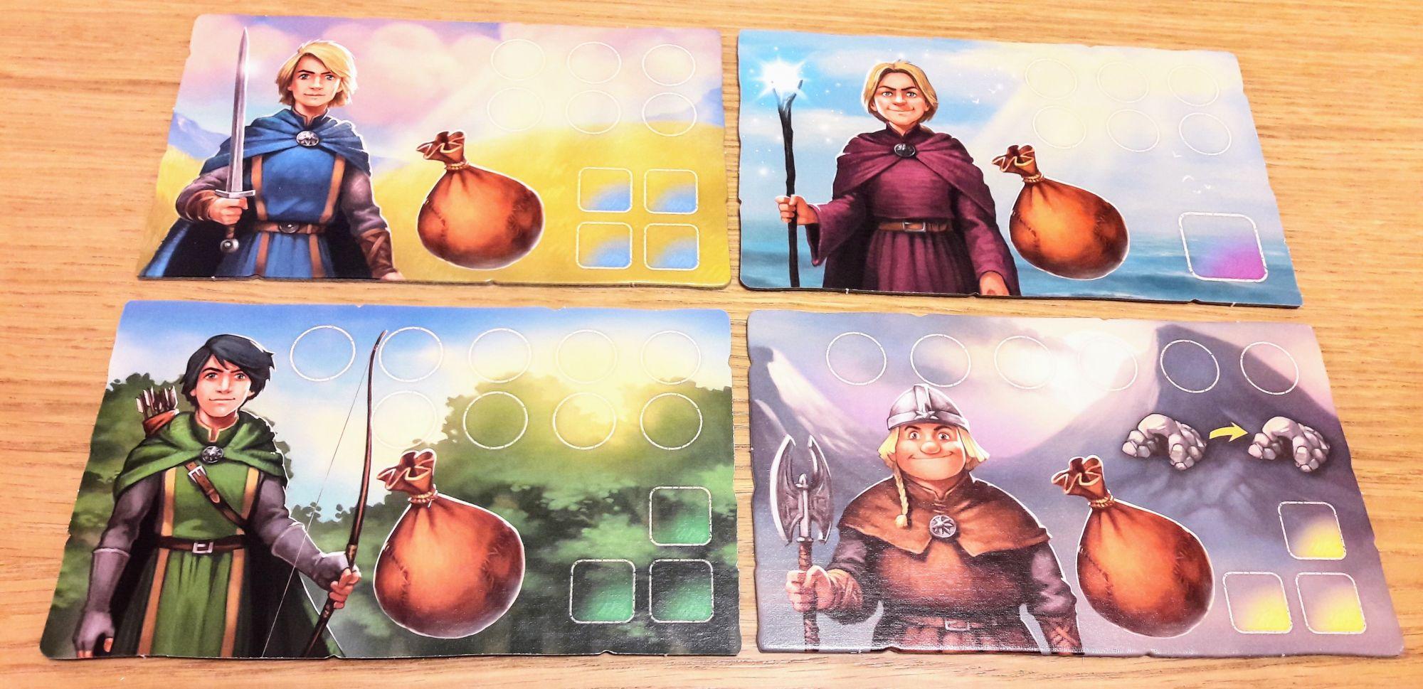 Guerrier, nain, sorcier ou archer il faudra choisir.