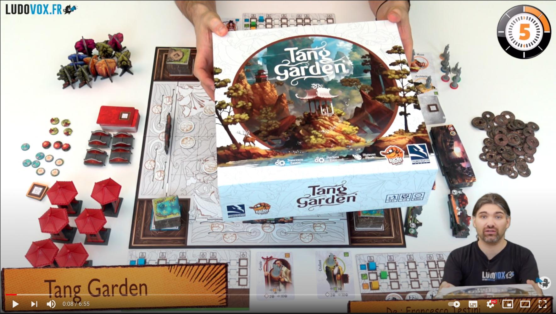 Ludochrono - Découvrez Tang garden en 5 minutes