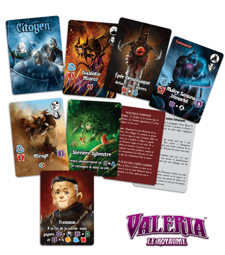 Valeria le Royaume - Pack de 83 cartes promotionnelles
