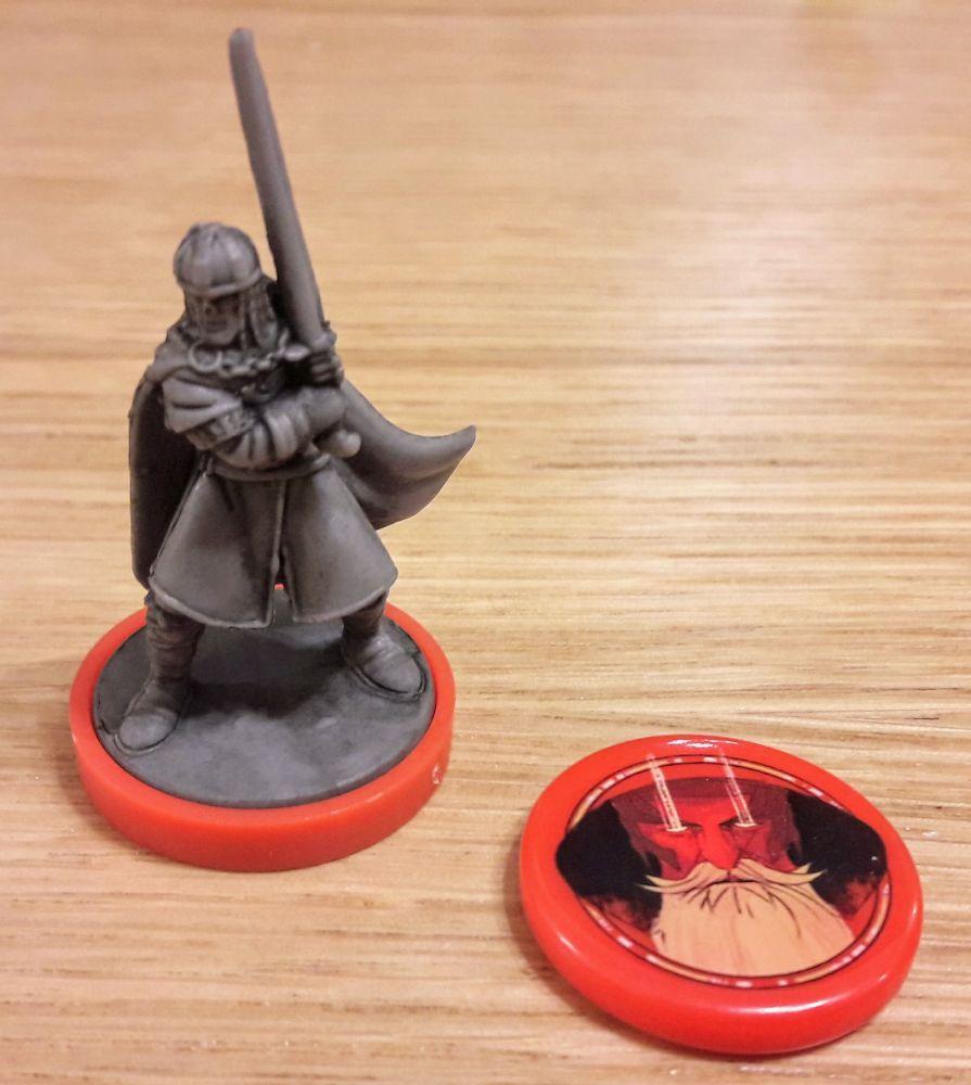 On imagine bien la force et la dignité du roi au combat et la puissance de Merlin son acolyte