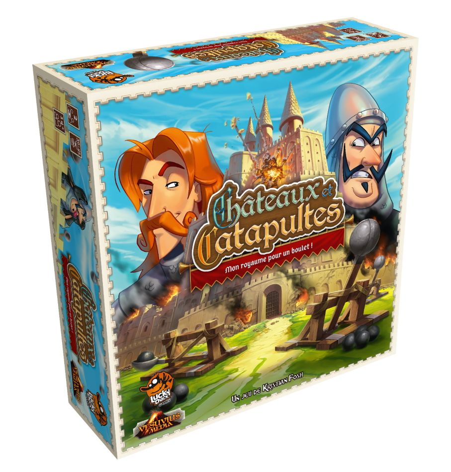 Châteaux et Catapultes : Mon Royaume pour un boulet !