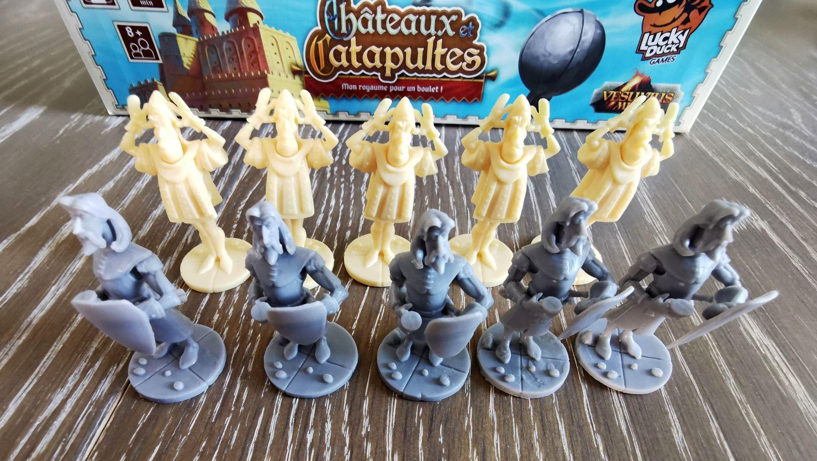 5 figurines par joueur.