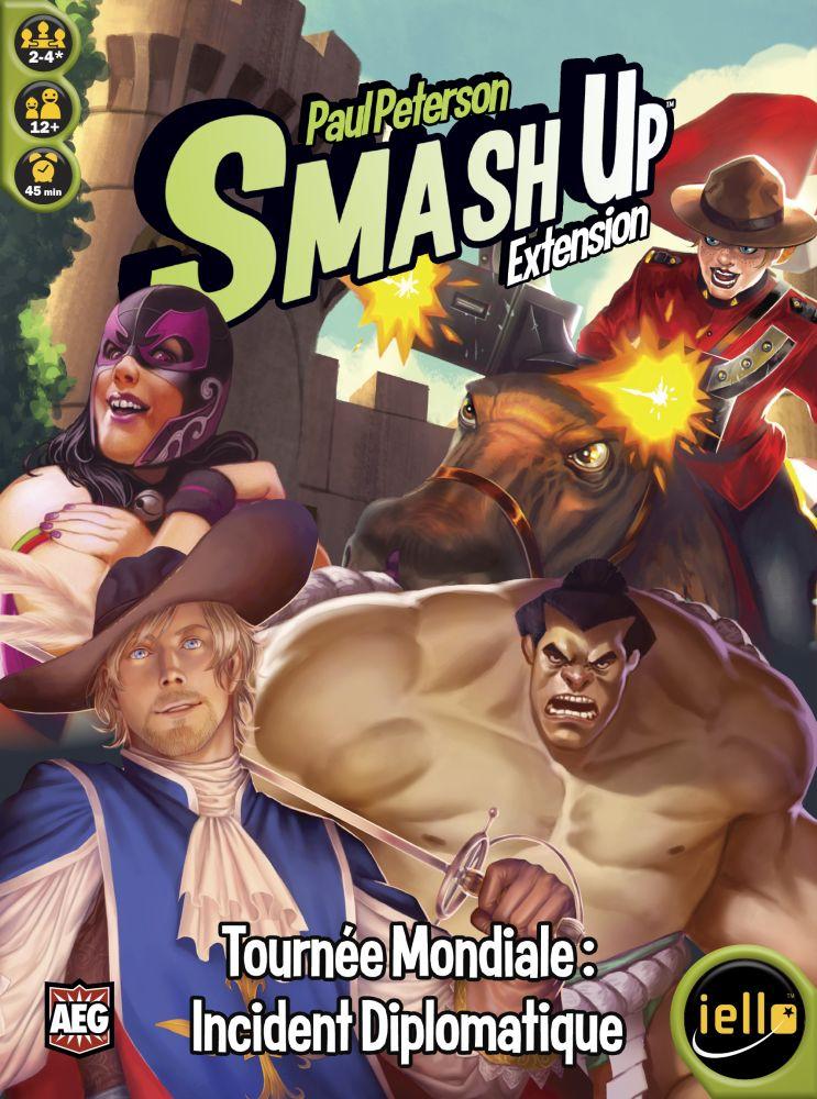 Smash Up - Tournée mondiale : Incident diplomatique