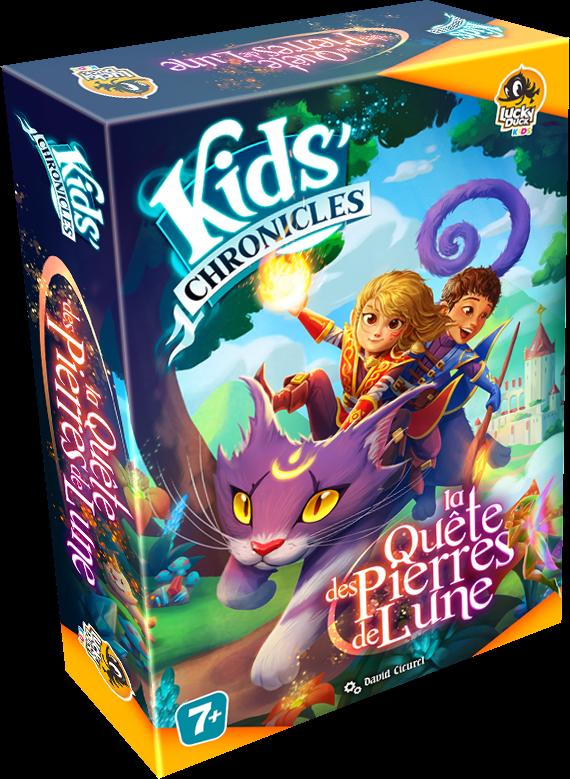 Kids Chronicles : la Quête des Pierres de Lune