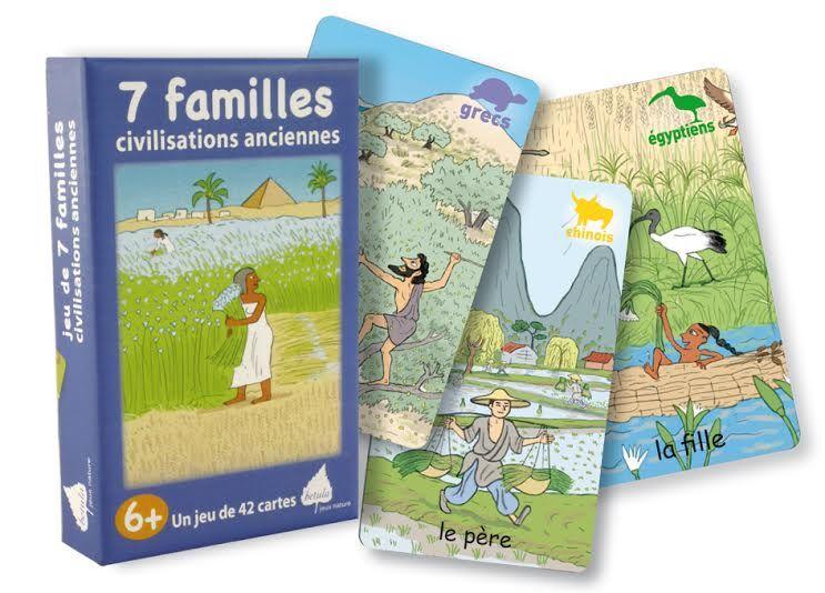 7 familles civilisations anciennes