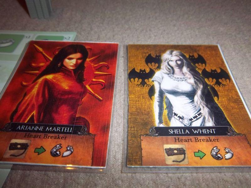 Pour jouer les Martell ou les Tully par contre, il y avait plus de candidats. Evidemment, avec des dames ayant une telle personnalité, il n'est pas facile de choisir.