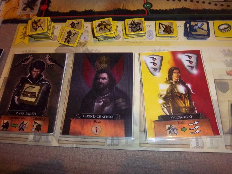 Le Clan Arryn... Petyr Belish, un des animateurs de cette partie, est pour le moment prisonnier...