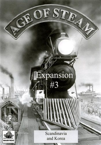 Age of Steam Expansion #3: Scandinavia and Korea