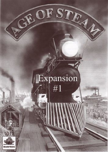 Age of Steam Expansions : Ireland & Angleterre