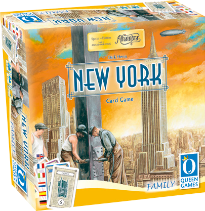 Alhambra - New York - The card game