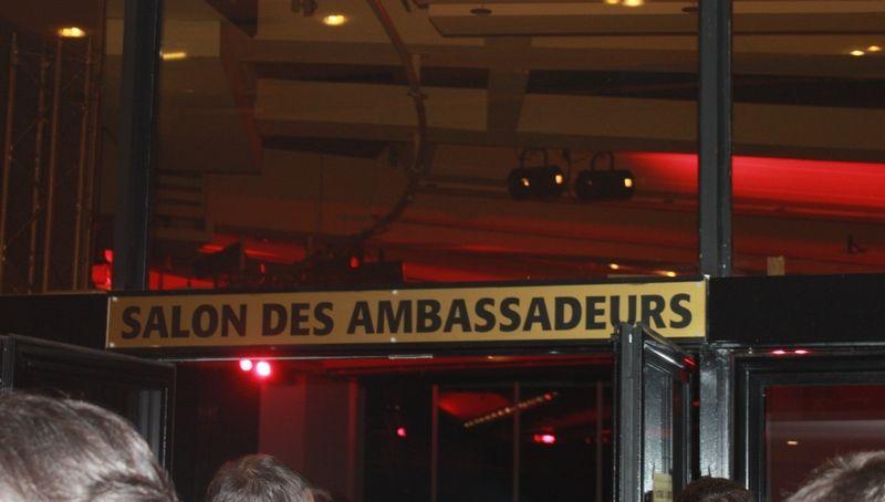 Le prestigieux Salon des ambassadeurs...