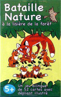 Bataille Nature à la lisière de la forêt