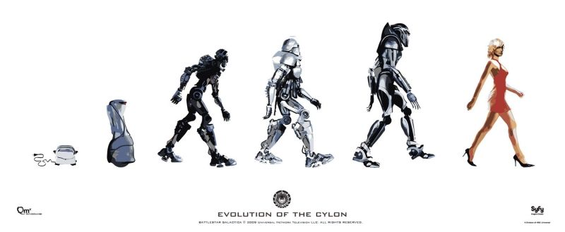 La fabuleuse évolution du Cylon