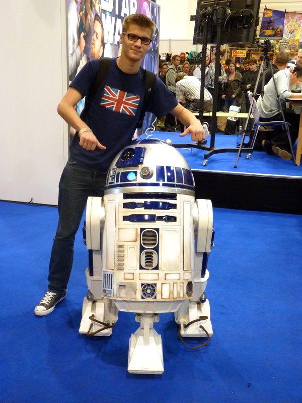 Mister Tib se la joue avec un superbe R2D2