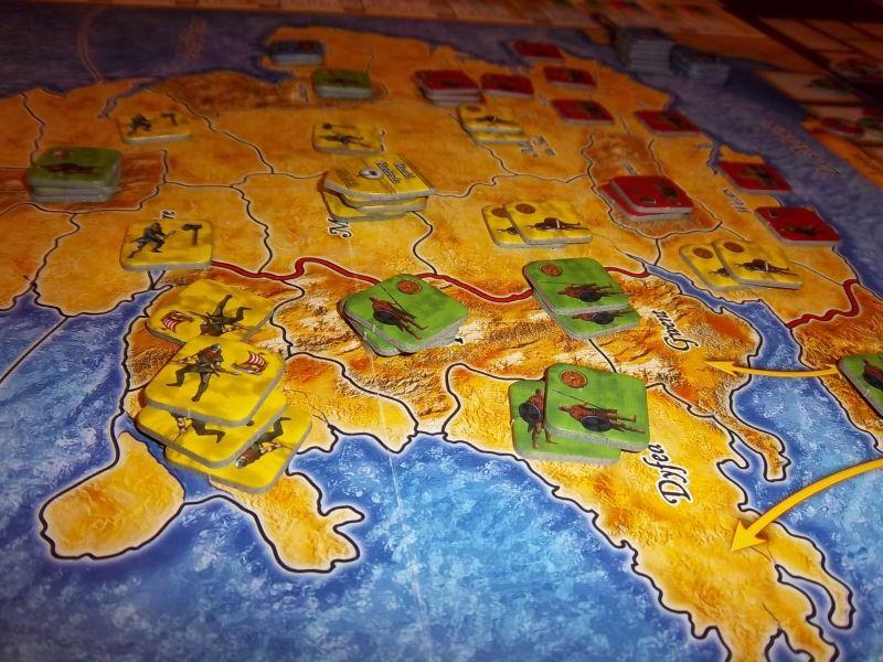 Une fin de partie plus difficile pour les Gallois...au fond, les Normands dans la Manche vont bientôt débarquer.