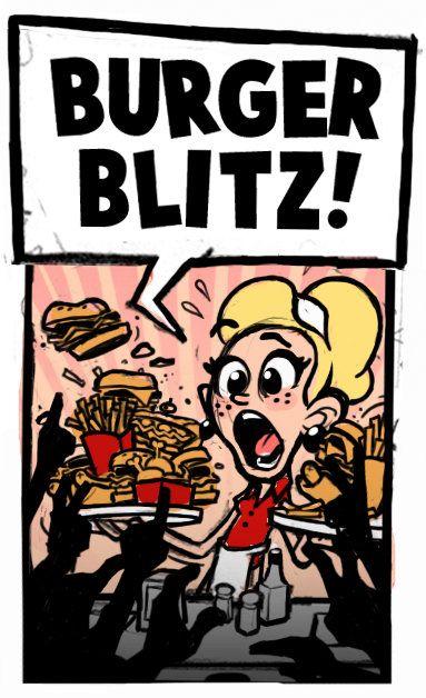 Burger blitz !