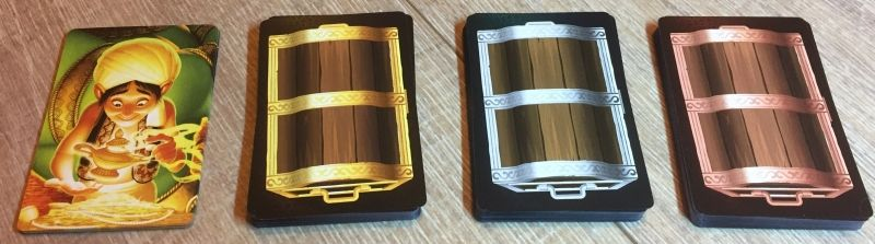 Des tas de cartes