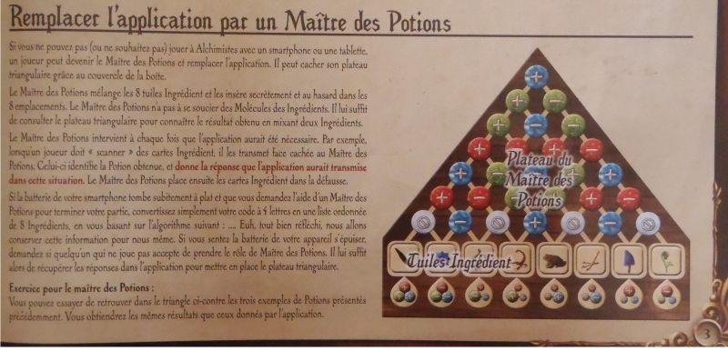"""<FONT size=""""2pt"""">Sinon, un joueur remplace l'appli et devient le maître des potions, mais il ne prendra pas vraiment part au jeu.</FONT>"""