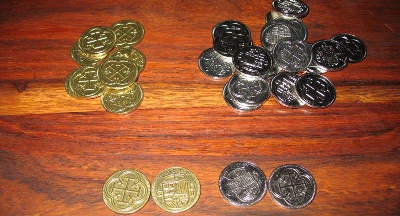 Les pièces doubles faces en métal, y a pas à dire : c'est la classe !