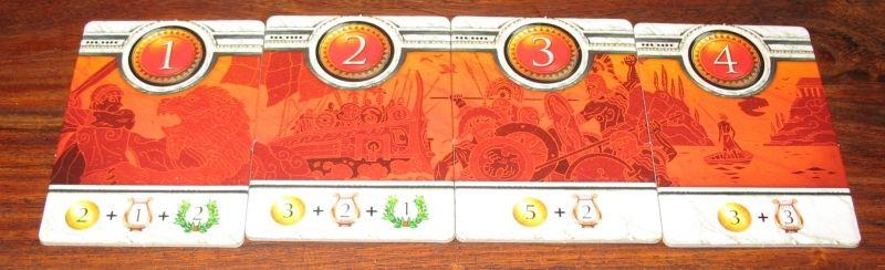 4 quêtes pour 3/4 joueurs, il y en a 2 autres pour 2 joueurs (les 3 et 4).