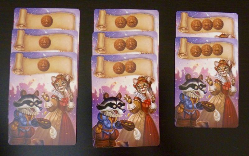 Toujours dans les cartes Rencontre, les 8 cartes Primes.