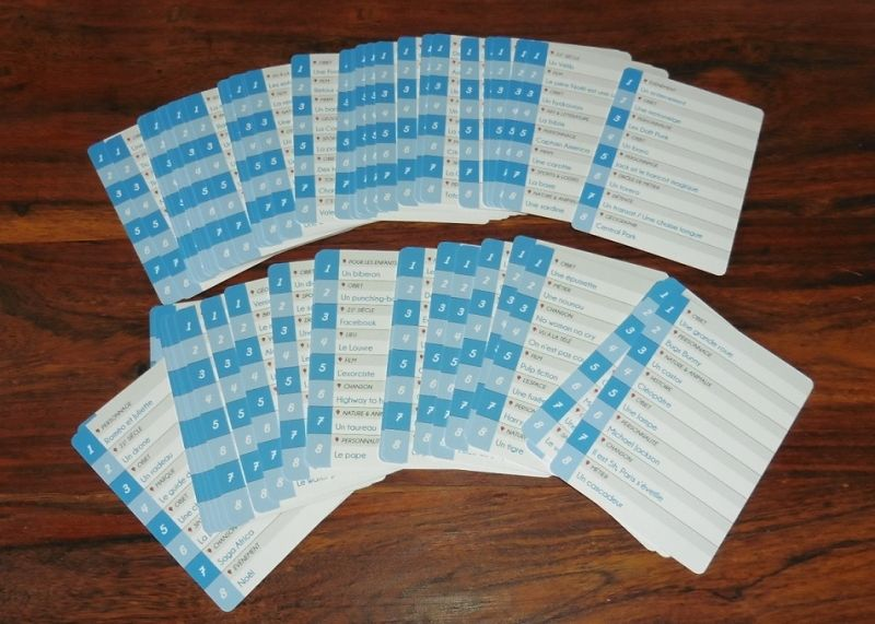 16 énigmes par carte (recto/verso) qui garantissent pas mal de rejouabilité