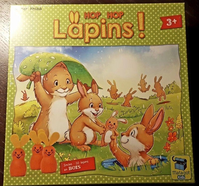 Faire jouer ses petits élèves à un jeu de Reiner Knizia ça ne se refuse pas ! Et après Mmm! bien connu de mes MS et GS en voici un pour mes PS.